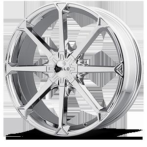 Helo Wheels HE870 5 Chrome