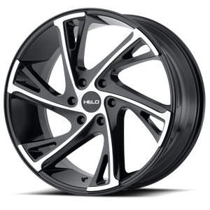 Helo Wheels HE903 6 Gloss Black Machined