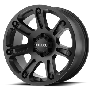 Helo Wheels HE904 6 Satin Black