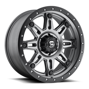 Hostage III - D568 Matte Anthracite w/ Black Ring 6 lug