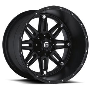 Fuel Deep Lip Wheels Hostage - D531 5 Matte Black