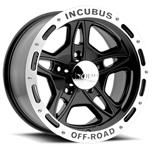 Incubus 511 Off-Road 5 Gloss Black with Machine Lip