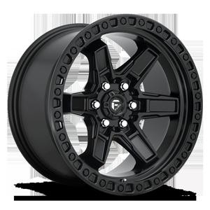 Fuel 1-Piece Wheels Kicker 6 - D697 6 Matte Black