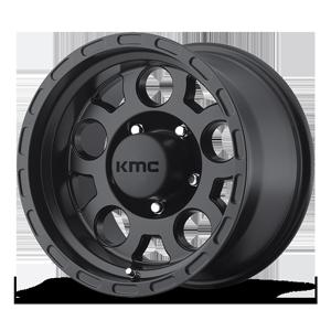 KM522 ENDURO Matte Black 5 lug