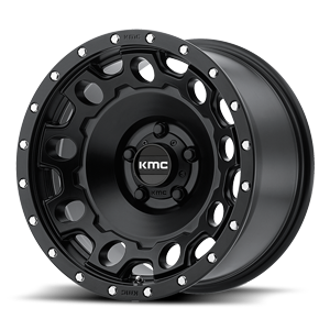 KM529 HOLESHOT Satin Black 5 lug