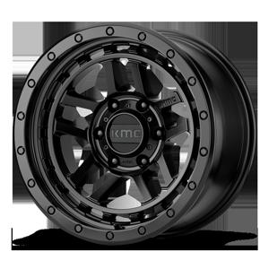 KM540 RECON Satin Black 6 lug