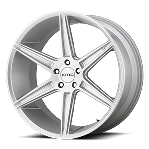 KMC Wheels KM711 PRISM 5 Brushed Silver