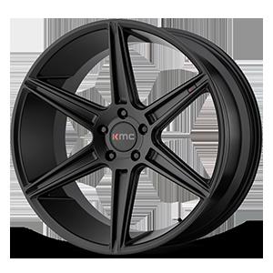KMC Wheels KM711 PRISM 5 Satin Black