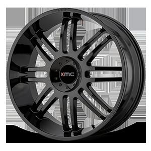 KMC Wheels KM714 Regulator 5 Gloss Black