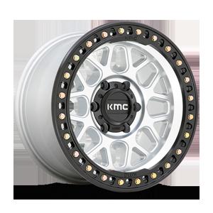 KM549 GRS Machined with Black Lip 6 lug