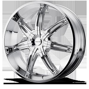 KMC Wheels KM665 Surge 5 Chrome