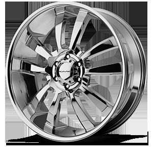KMC Wheels KM673 Skitch 6 Chrome