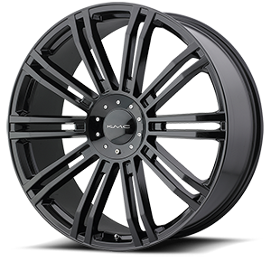 KMC Wheels KM677 D2 6 Gloss Black