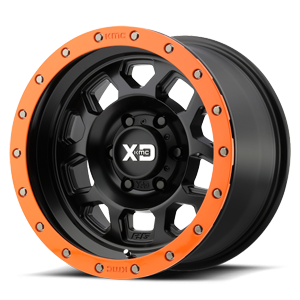 XD132 RG2 Satin Black w/ Optional Speed Orange Ring 6 lug