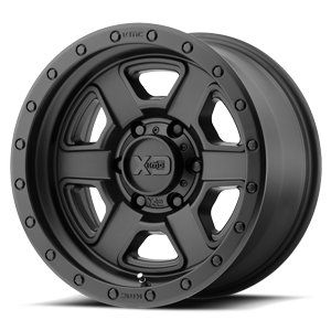 XD133 Fusion Off-Road Satin Black 6 lug
