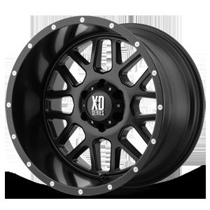 XD Wheels XD820 Grenade 6 Satin Black