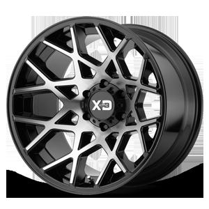 XD Wheels XD831 Chopstix 6 Gloss Black Machined