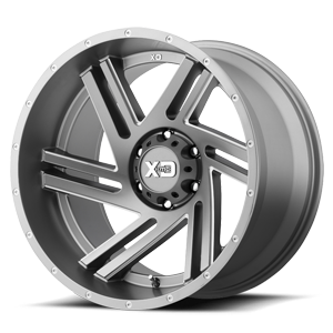 XD Wheels XD835 Swipe 6 Satin Grey Milled