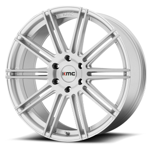 KMC Wheels KM707 Channel 6 Brushed Silver