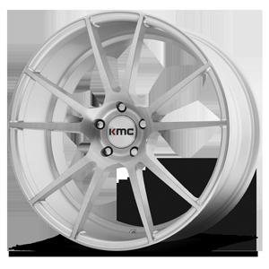 KMC Wheels KM709 FLUX 5 Brushed Silver