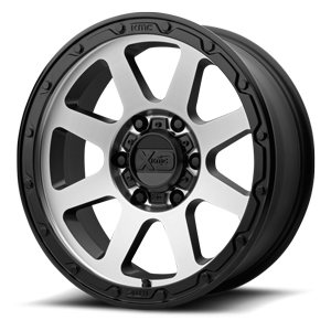 XD Wheels XD134 Addict 2 6 Matte Black Machined