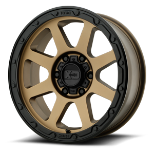 XD Wheels XD134 Addict 2 6 Matte Bronze with Black Lip