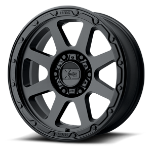XD Wheels XD134 Addict 2 6 Matte Black