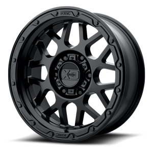 XD Wheels XD135 Grenade OR 6 Matte Black