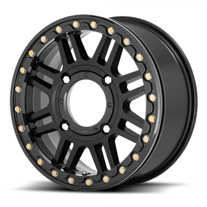 KS250 Cage Beadlock Satin Black 4 lug