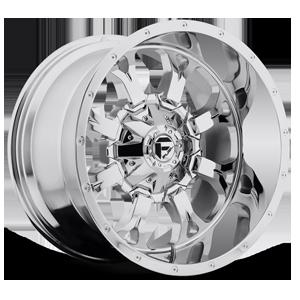 Fuel 1-Piece Wheels Krank - D516 8 Chrome Plated