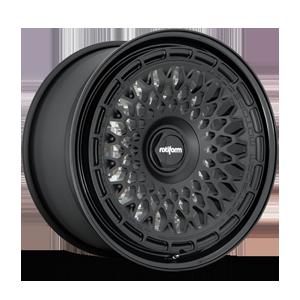 Rotiform LHR-M 5 Matte Black with Gloss Black Lip