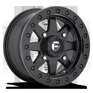 Fuel UTV Wheels Maverick Beadlock - D936 - UTV 4 14x7 | Black Center w/ Black Beadlock