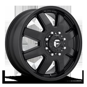 Fuel Dually Wheels Maverick Dually Front - D436 8 Satin Black