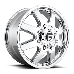Fuel Dually Wheels Maverick Dually Front - D536 8 Chrome
