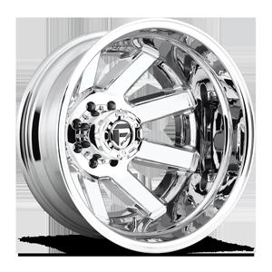Fuel Dually Wheels Maverick Dually Rear - D536 8 Chrome