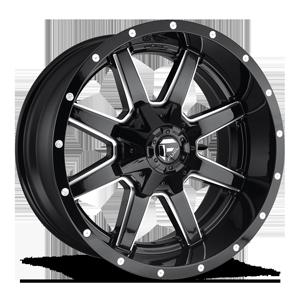 Fuel 1-Piece Wheels Maverick - D610 5 Gloss Black