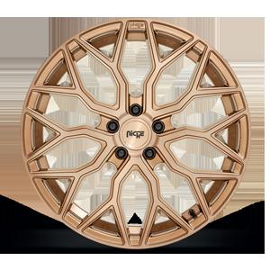 Mazzanti - M263 Platinum Bronze w/ Brushed Bronze Tint 5 lug