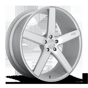 Niche Sport Series Milan - M135 5 22x9 | Silver/Machined
