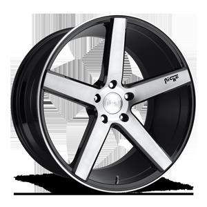 Niche Sport Series Milan - M124 5 Brushed / Gloss Black