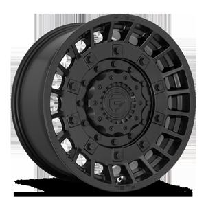 Fuel 1-Piece Wheels Militia - D723 6 Matte Black