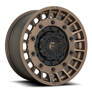 Fuel 1-Piece Wheels D725 MILITIA 6 Bronze w/ Matte Black