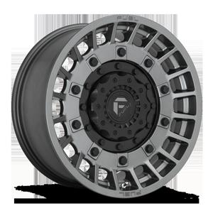 Fuel 1-Piece Wheels D726 MILITIA 6 Anthracite w/ Matte Black
