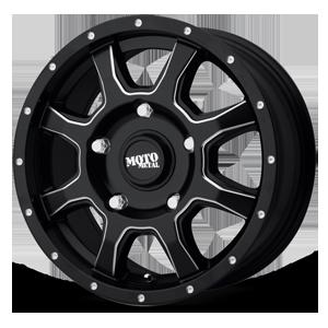 Moto Metal MO970 Euro Van 5 Satin Black Milled