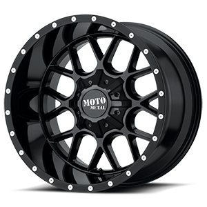 Moto Metal MO986 Siege 5 Gloss Black