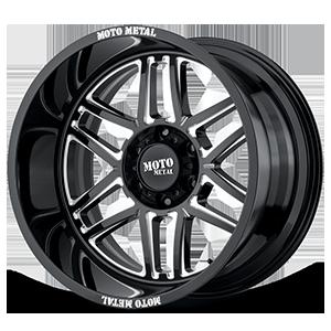 Moto Metal MO992 Folsom 6 Gloss Black Milled