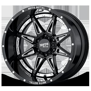 Moto Metal MO993 Hydra 6 Gloss Black Milled