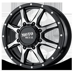 Moto Metal MO995 8 Gloss Black Machined Face