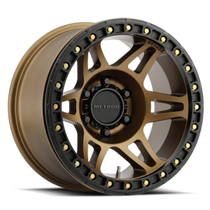Method Race Wheels MR106 6 Bronze w/ Black Ring