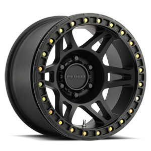 Method Race Wheels MR106 6 Matte Black