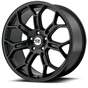 MR120 Satin Black 5 lug
